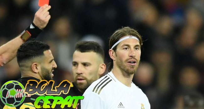 Sergio Ramos Dikartu Merah, Video TikTok-nya Jadi Ejekan