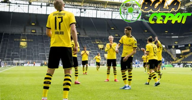Kemenangan Telak Dortmund Terasa Janggal Tanpa Adanya Fans