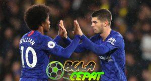 Willian dan Pulisic Sosok Sentral di Balik Kemenangan Chelsea