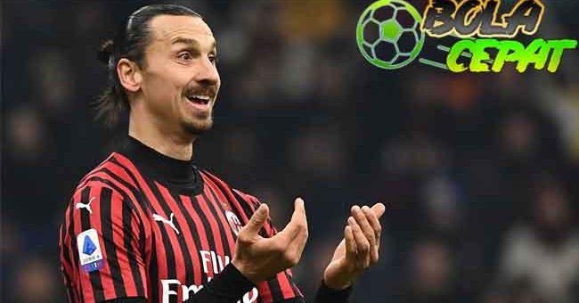Kabar Zlatan Ibrahimovic Bakal Bertahan di AC Milan