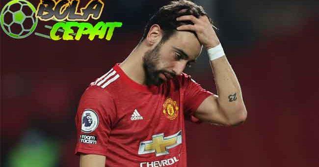 Fernandes Beber Kunci Kekalahan Manchester United dari Liverpool