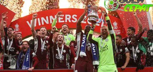 Maaf Chelsea, Leicester Juara FA Cup Karena Tampil Lebih Baik