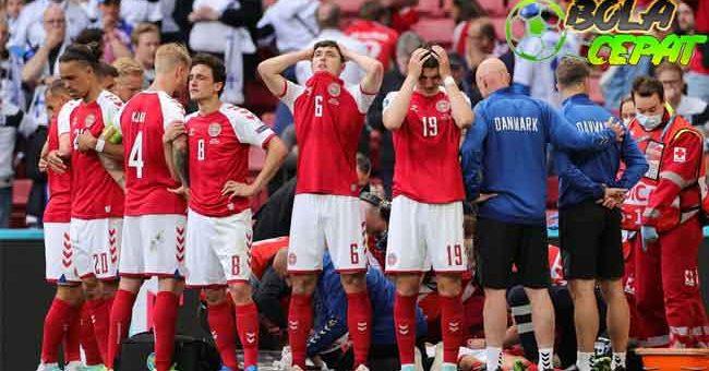 Menangis Cerita Soal Christian Eriksen, Pelatih Denmark Akui Kesehatan Mental Timnya Terguncang