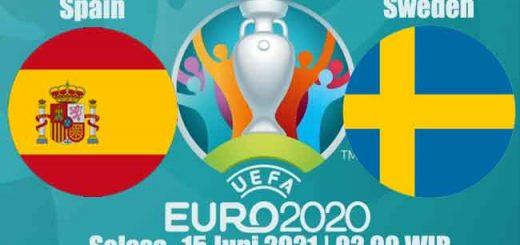 Prediksi Bola Spain VS Sweden 15 Juni 2021