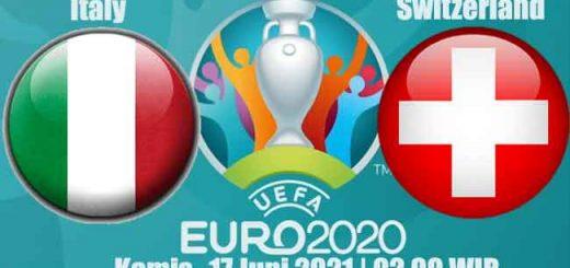 Prediksi Bola Italy vs Switzerland 17 Juni 2021