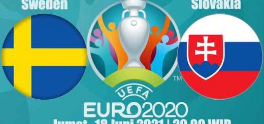 Prediksi Bola Sweden vs Slovakia 18 Juni 2021