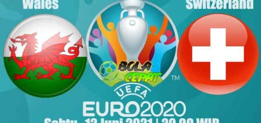 Prediksi Bola Wales VS Switzerland 12 Juni 2021