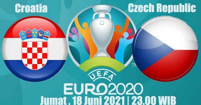 Prediksi Bola Croatia vs Czech Republic 18 Juni 2021