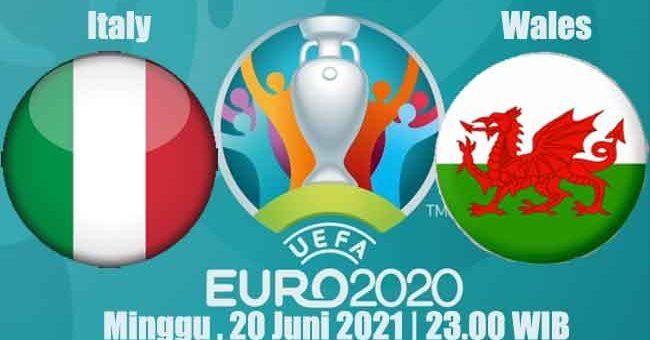 Prediksi Bola Italy vs Wales 20 Juni 2021