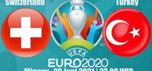 Prediksi Bola Switzerland vs Turkey 20 Juni 2021