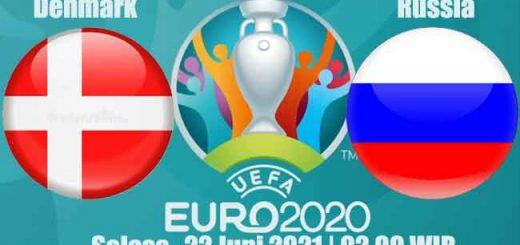 Prediksi Bola Denmark vs Russia 22 Juni 2021