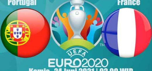 Prediksi Bola Portugal vs France 24 Juni 2021