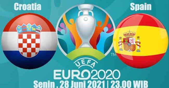 Prediksi Bola Croatia vs Spain 28 Juni 2021