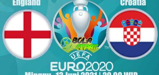 Prediksi Bola England VS Croatia 13 Juni 2021