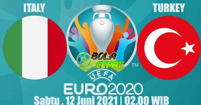 Prediksi Bola Italy VS Turkey 12 Juni 2021