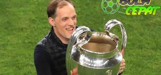 Thomas Tuchel Terpilih Sebagai Pelatih Terbaik Jerman 2020/21