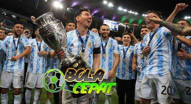 Argentina Juara Copa America ke-15 Kali, Samai Rekor Uruguay