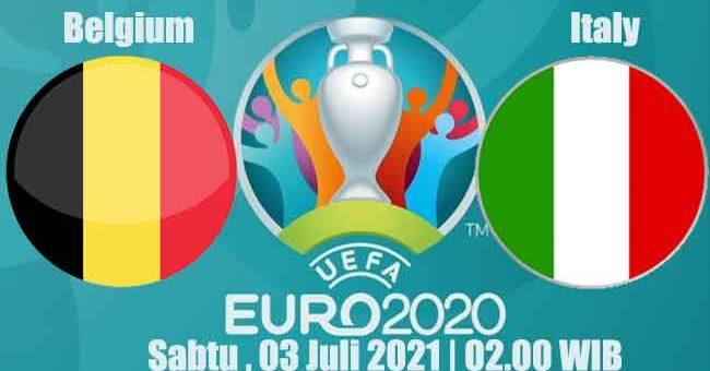 Prediksi Bola Belgium vs Italy 03 Juli 2021