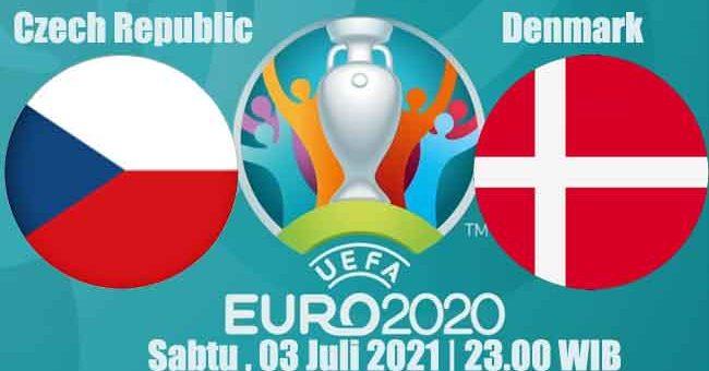 Prediksi Bola Czech Republic vs Denmark 03 Juli 2021