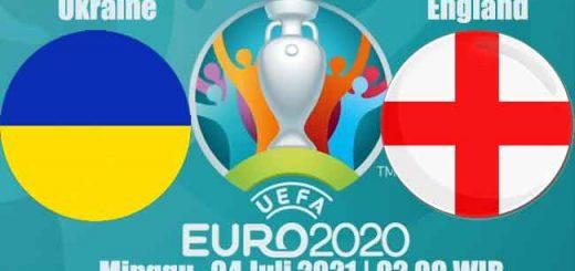 Prediksi Bola Ukraine vs England 04 Juli 2021