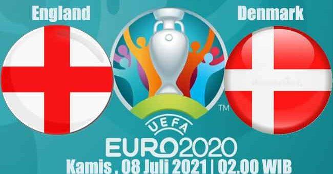 Prediksi Bola England vs Denmark 08 Juli 2021