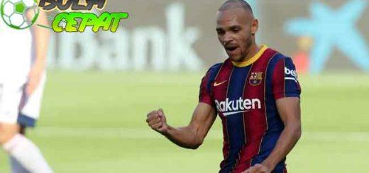 Lupakan Leo Messi, Barcelona Punya Martin Braithwaite