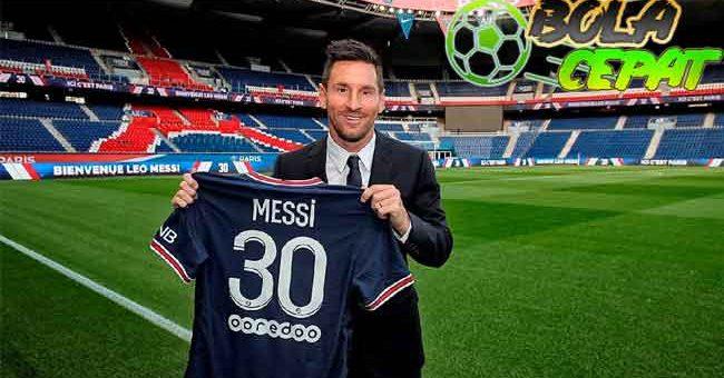 Setelah Sekian Lama, Lionel Messi Akhirnya Tak Pakai Nomor Punggung 10 Lagi