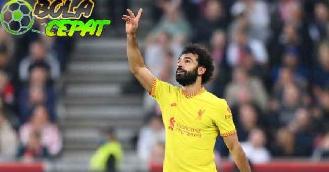 Mohamed Salah Jadi Pemain Liverpool Pertama yang Sukses Cetak Gol dalam 9 Laga Beruntun